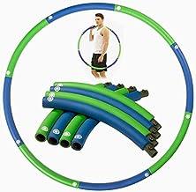 Smart Hula Hoop Hula Hoop Gewogen Travel uitneembare plastic Hula Hoop maat verstelbaar makkelijk mee te nemen Weighted Hu...