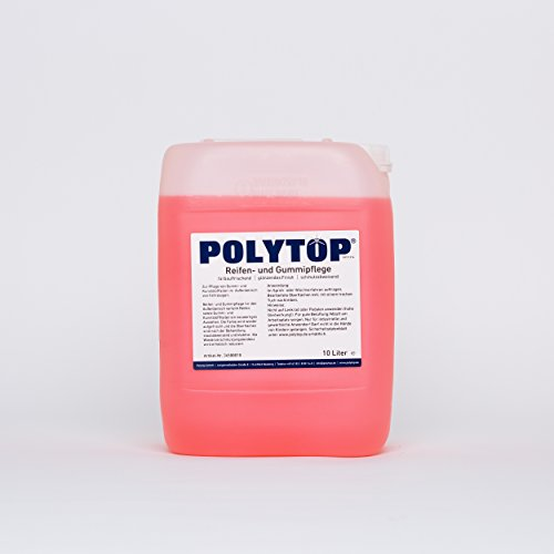 Polytop Reifen- und Gummipflege Reifenglanz Kunststoffpflege Tiefenpfleger Radkästen außen 10 L
