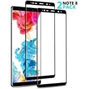 Vinpie Galaxy Note 8 Screen Protector, 2 Pack [Bubble-Free] [HD Ultra Clear] [Easy to Install] [9H Hardness Grade] Tempered Glass for Samsung Note 8