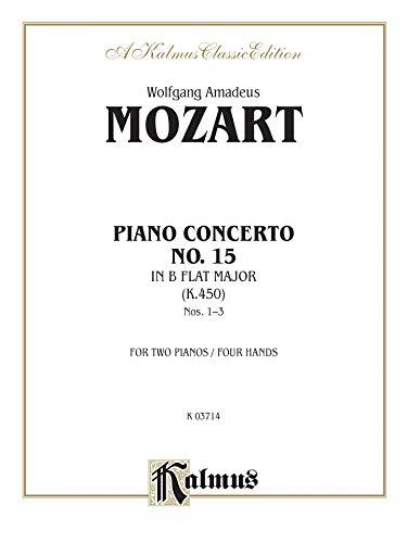 Price comparison product image Piano Concerto No. 15 in B-flat,  K. 450 (Kalmus Edition)