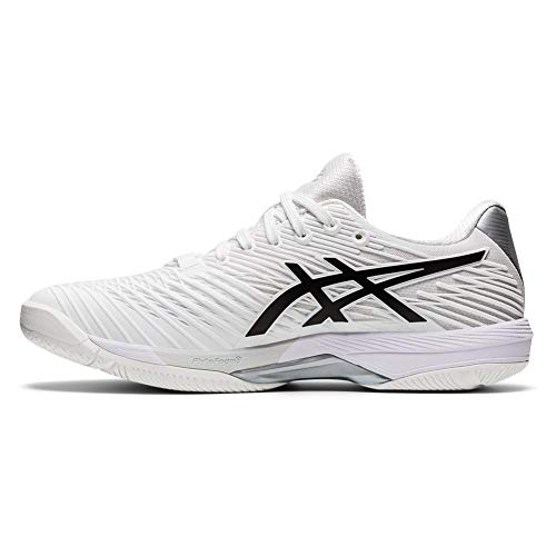 Product Image 4: ASICS Men's Solution Speed FF 2 Tennis Shoes, 10.5, White/Black