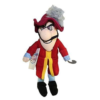 "Disney 8"" Bean Bag Plush Peter PAN Captain Hook"