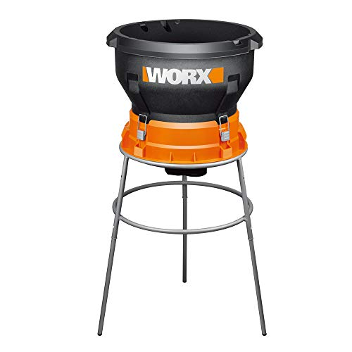 WORX WG430 13 Amp Foldable Bladeless Electric Leaf Mulcher,...
