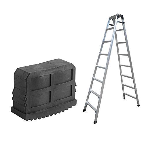 NCONCO 2 unidades/par de pies de escalera de goma antideslizante de repuesto para pie