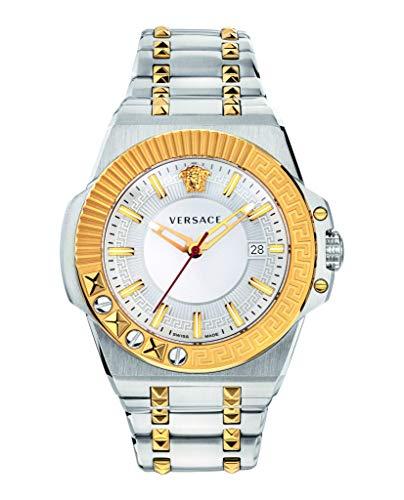 Versace VEDY00519 Chain Reaction Heren horloge 45 mm