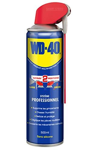 WD-40 Spray, 40ml, 500 ml, blau