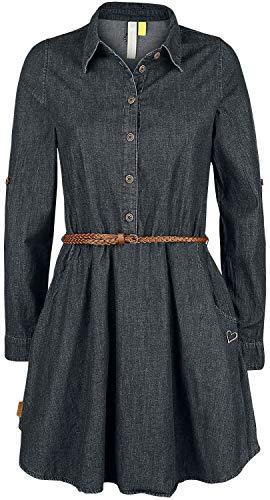 alife and Kickin Hanna Dress M, Black Denim