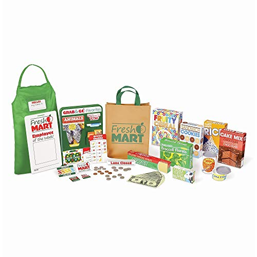 Melissa & Doug Wooden Grocery Store Stand Now $170.19 (Was $199.99)