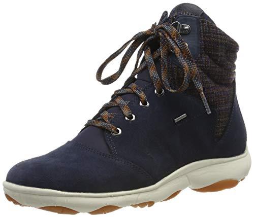 Geox Damen D NEBULA 4 X 4 B ABX A Chukka Boots, Blau (Navy C4002), 40 EU