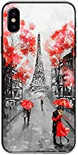 iPhone XR Case,Blingy's New Scenic Style Protective Soft TPU Rubber Case Compatible for iPhone XR (Pretty Paris)