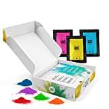 Pack 8 bolsas de polvo Holi de 100 gramos - Edición especial - 8 Colores