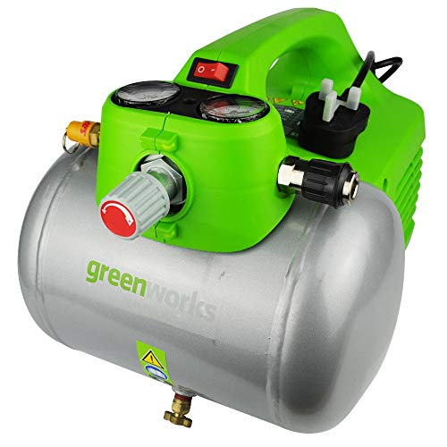 Greenworks Electric Air Compressor 6L Compact 230V 4600RPM