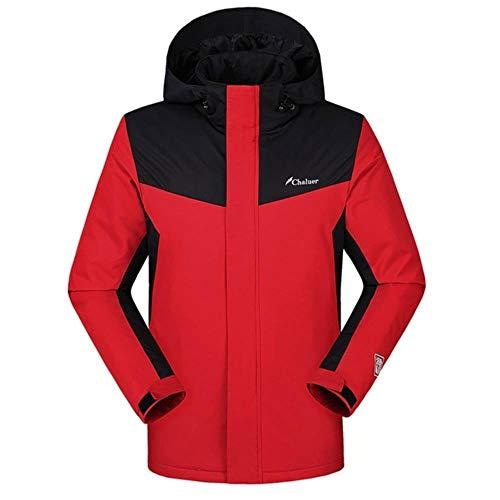 ERFHJ Trenchcoat Heren Style Smart Heating Warm Down Charge Jacket Coat