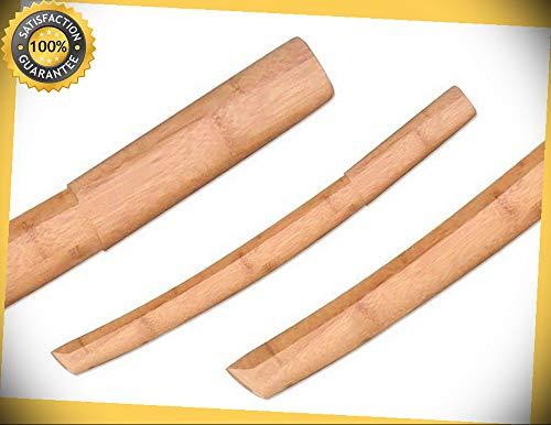 22'' Bamboo Samurai Sword perfect for cosplay outdoor camping