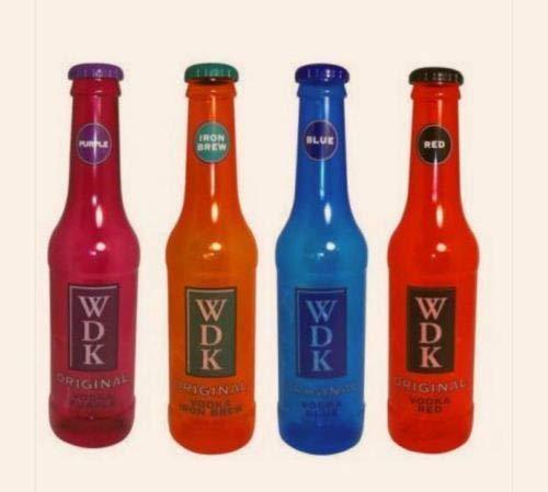comfyfit Botellas de dinero con estilo grande, caja de monedas, notas de lata de plástico hucha 60 cm (WDK rojo)