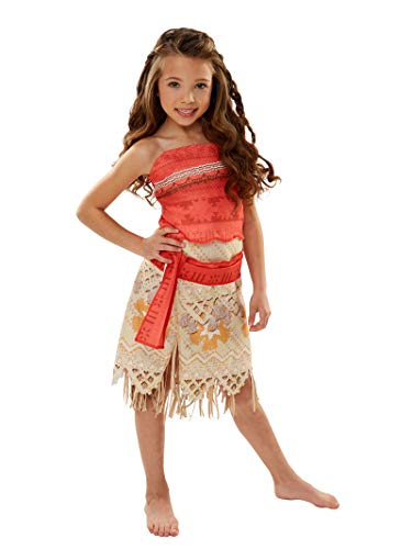 Price comparison product image Disney Moana Girls Adventure Outfit ,  Size 4-6X