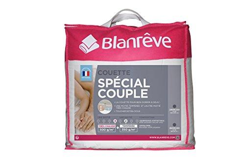 Blanrêve Couette Spéciale Couple 260 x 240
