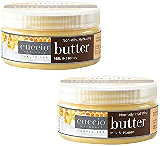 Cuccio Butter Milk & Honey Lotion 8 oz (2 pieces)