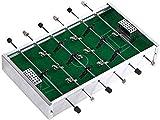 YLJYJ Futbolín de Mesa de aleación de Aluminio con Personalidad Creativa Mini portátil de 6 Polos Traje de futbolín de Mesa multifunción para Padres e Hijos Inte (Deportes)