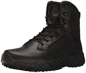 Under Armour Men s Stellar Tac Side Zip Military and Tactical Boot Black  001 /Black 9