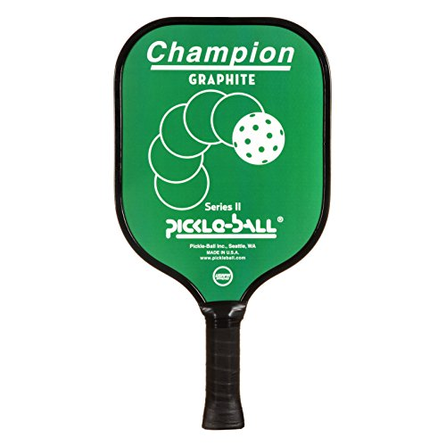 Pickleball, Inc. Vintage Champion Pickleball Paddle (Green, Thin Grip 4