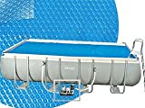Intex 29026 - Manta solar rectangular de 180μ, 549 x 274 cm