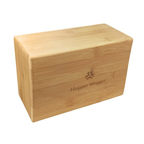 Wood yoga block perfect for your active husband - traditional 5th wooden anniversary gift idea
