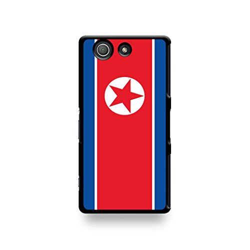 LD Case COQSOZ3M_45 beschermhoes voor Sony Xperia Z3 Compact met Noord-Korea-vlag
