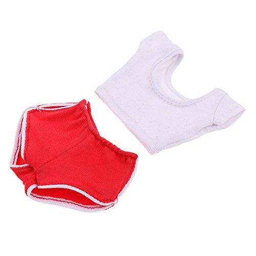 T TOOYFUL 1/6 Female Short Sleeve & Pants Sportanzug Für 12 '' DML DID TTL Hot Toys - Rot