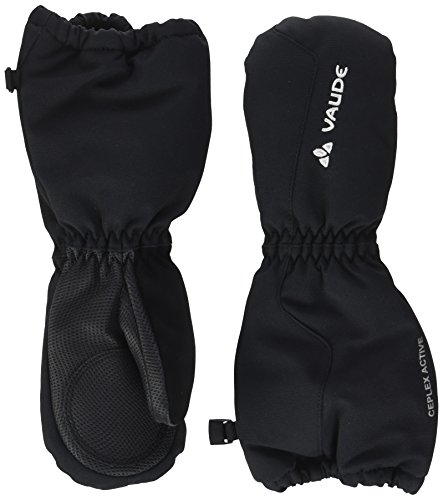 VAUDE Kinder Handschuhe Kids Snow Cup Mitten III, black uni, 2, 052630510200