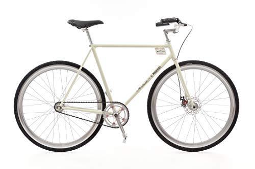 MONTANTE CICLI 3500S, Bicicletta da Citta Uomo, Bianco Maserati, M