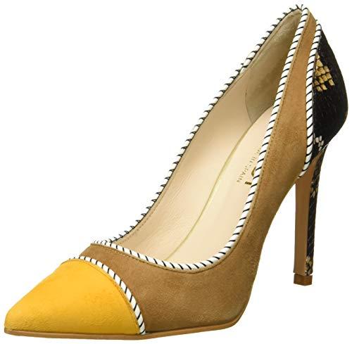 lodi VENSIL39SR, Zapatos de tacón con Punta Cerrada para Mujer, Safron, 40 EU