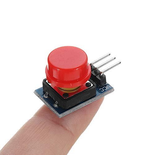 20 stuks Big Key module knoppen module met hoed hoog niveau elektronische uitgang omschakelmodule