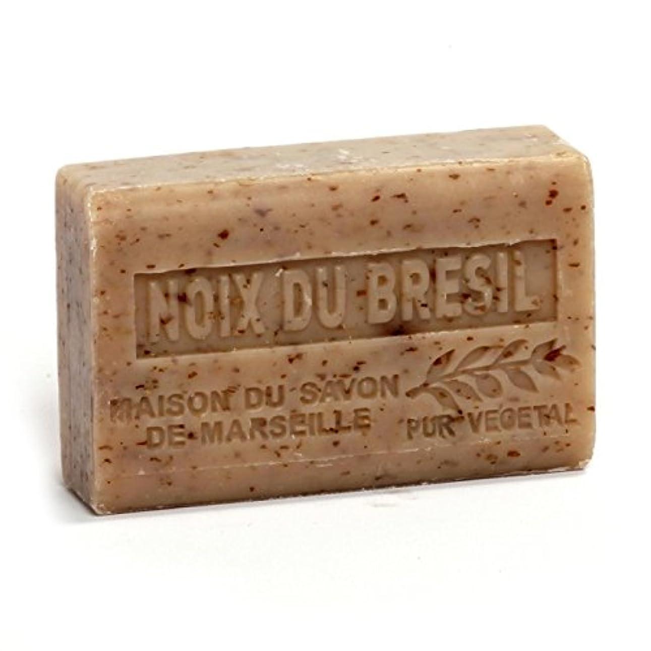 旅行罪人不規則性Savon de Marseille Soap Brasil Nuts Shea Butter 125g