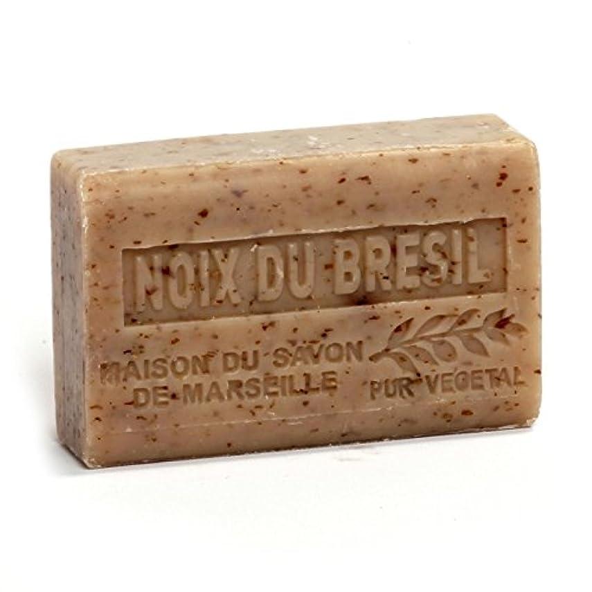 実行するコンデンサー文字通りSavon de Marseille Soap Brasil Nuts Shea Butter 125g