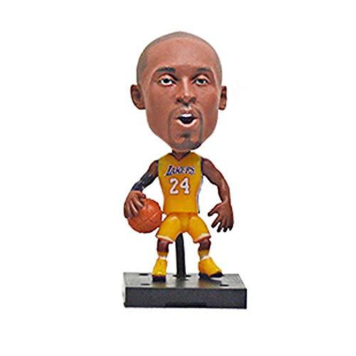FILWS Super Star Player Kopfschütteln Action Figure Basketball Modell Spielzeug Puppe Für Auto Dekoration Figuren Dekoration Handwerk