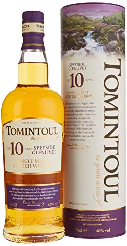Tomintoul 10 Jahre Single Malt Scotch Whisky (1 x 0.7 l)