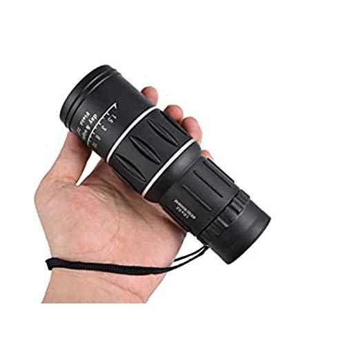 IOIOA Portable 16 X 52 télescope monoculaire, Double Optique Mise au Point Optique Haute Puissance HD Theatrical Oculaire pour la Chasse et Jour Camping Nuit