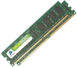 Corsair Value Select Memory - 1024 MB (2 x 512 MB) - DIMM 240-pin - DDR II (VS1GBKIT533D2)