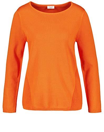 Gerry Weber Damen Pullover Mit Struktur-Mix Figurumspielend Burned Orange 42