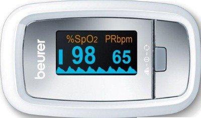 BEURER PO30 - Oxímetro de pulso (1 unidad)