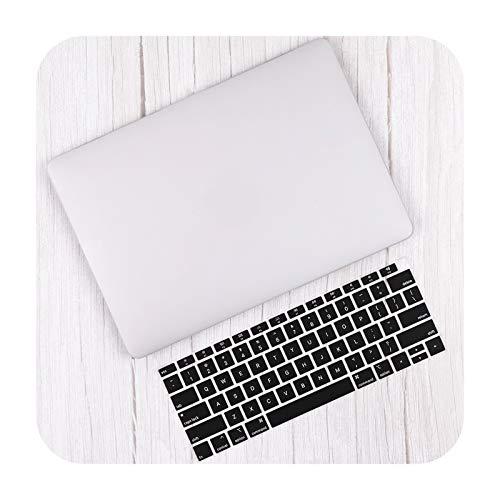 Carcasa de plástico mate para MacBook Air de 13 pulgadas A2337 A2179 2020 Pro 13 16 Touch Bar A2141 A2338 A2289 Skin-White-Retina 12 A1534