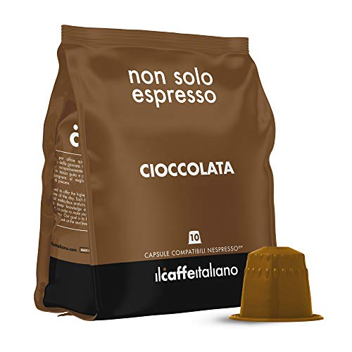 50 Schokolade kapseln - Nespresso Kompatible kapseln - Il Caffè Italiano