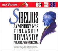 Sibelius: Symphony No. 2, Valse Triste, Swan of Tuonela, Finlandia (RCA Victor Basic 100, Vol. 38) by Sibelius