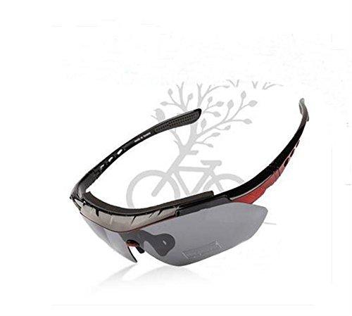 Extérieur d'équitation Lunettes de Myopie Lunettes de soleil polarisées mâle et femelle pour VTT Cyclisme équipements Nuit
