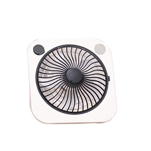 HYY-YY Ventilador portátil, Ventilador de Escritorio pequeño Clip del Verano del Ventilador 2 Dientes de Viento Cara de la Cama for Dormir Ventilador USB