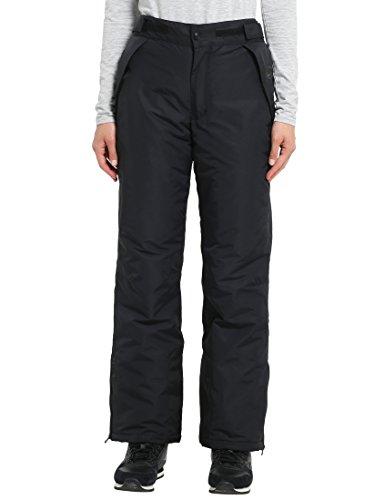 Ultrasport 10022 Damen Pants funktions-ski-/Snowboardhose, Schwarz, M