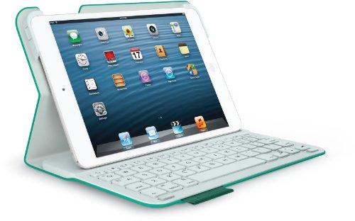 Logitech Ultrathin Keyboard Folio m1 for iPad mini Green Leash - German Qwertz layout