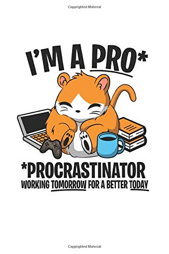 Diabetes Log Book: Hamster Faul Procrastinate Joke Funny Gift 120 Pages, 59 Weeks, 6X9 Inches, Blood Sugar & Hypertension Journal