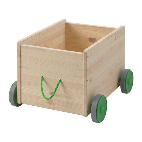 Ikea Toy Storage with Castors 426.292614.102